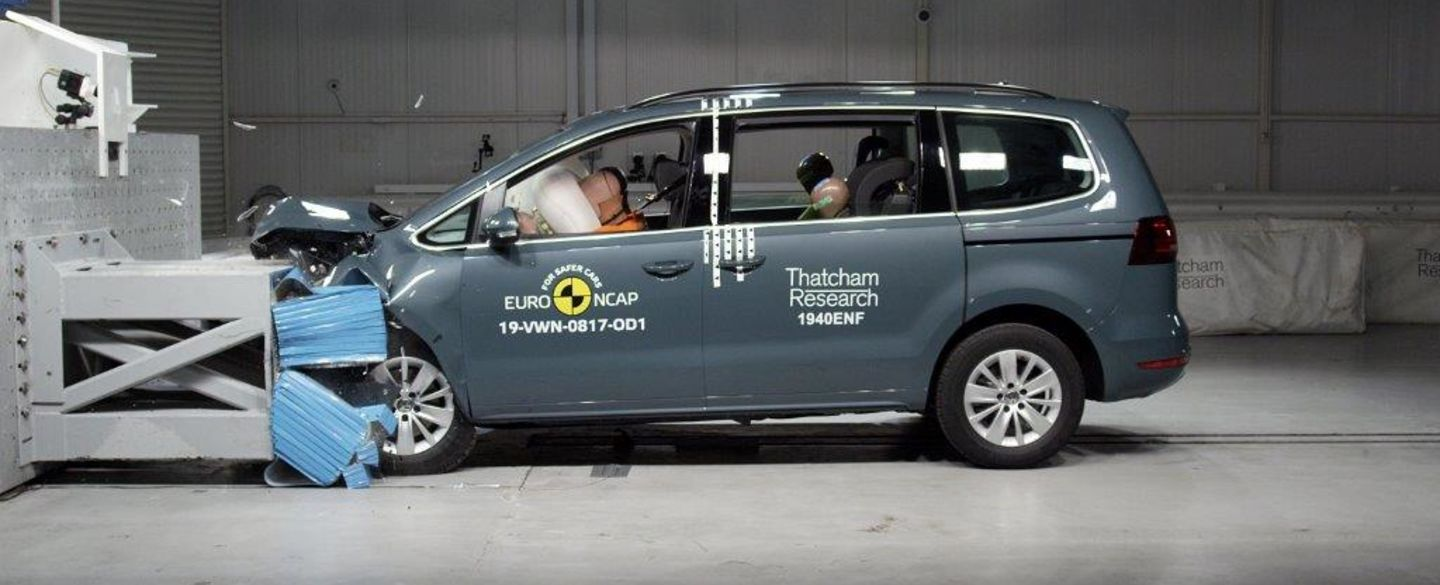 Crashtest: VW Sharan