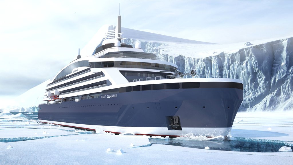 Eine echte Weltneuheit Ponant Icebreaker - Stirling Design International